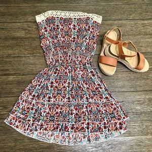 Beautiful multi-pattern dress